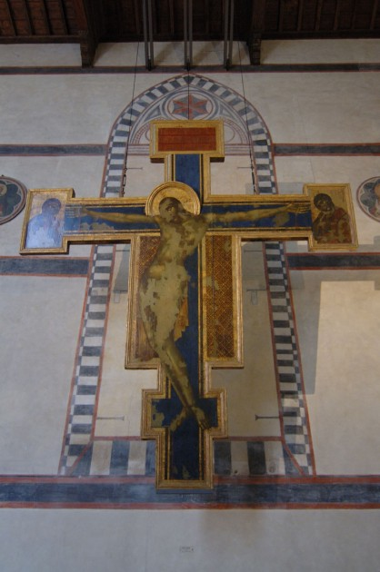 cimabue crucifix restored flood