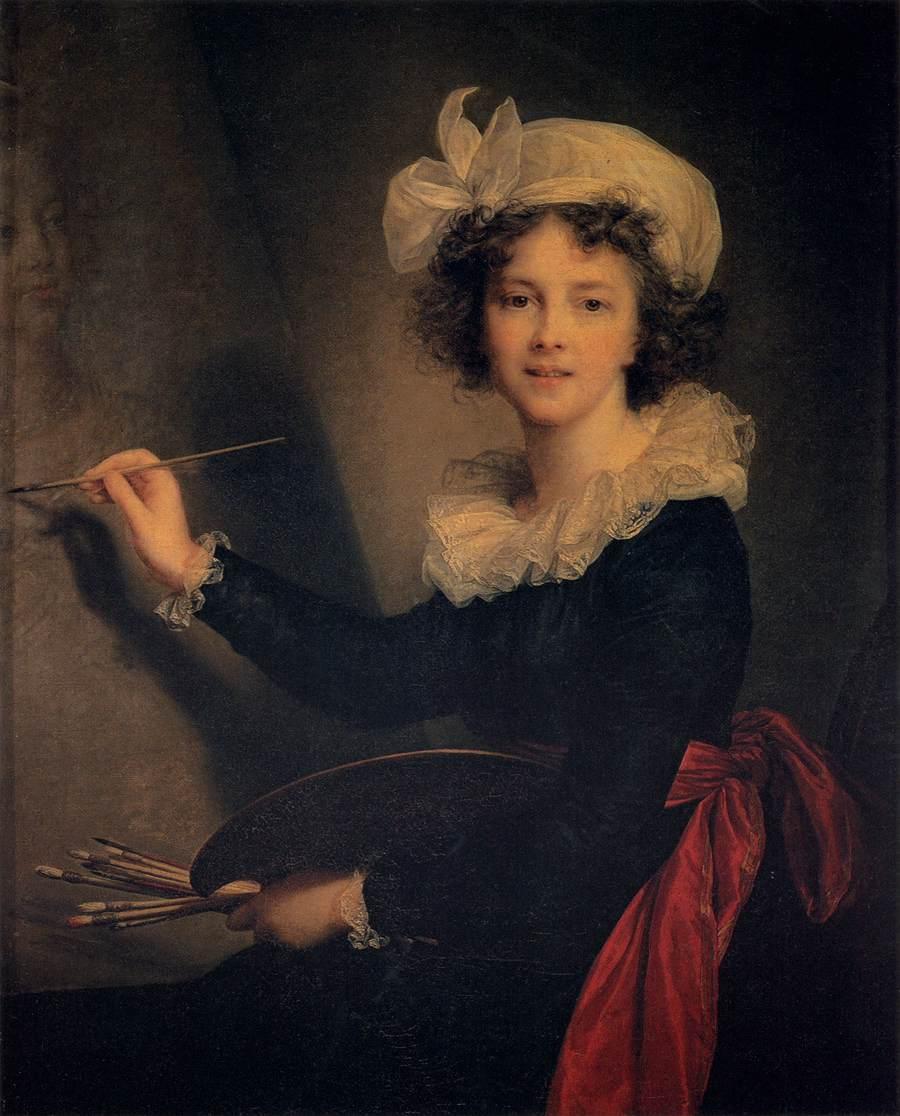 Elisabeth vigée le brun self portrait