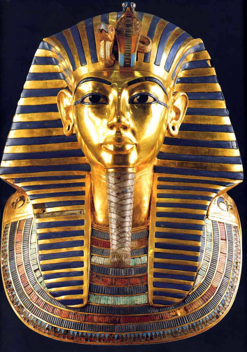 King Tut Nesting Shrines  Funerary Mask Of Tutankhamun