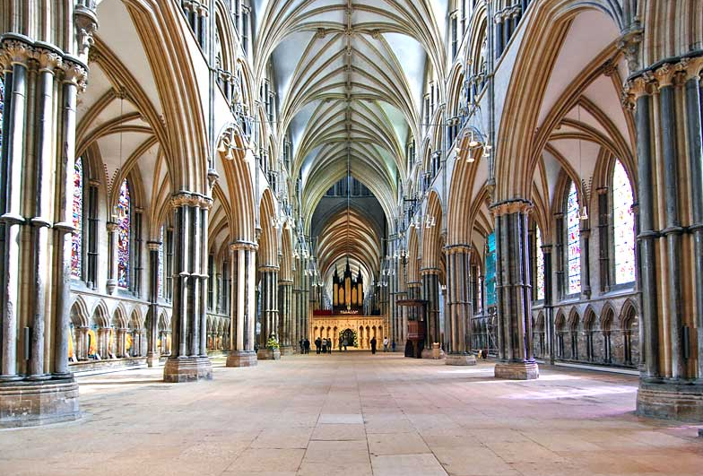 Lincoln Cathedral Interior Construction Mostly 12th 14th Centuries
