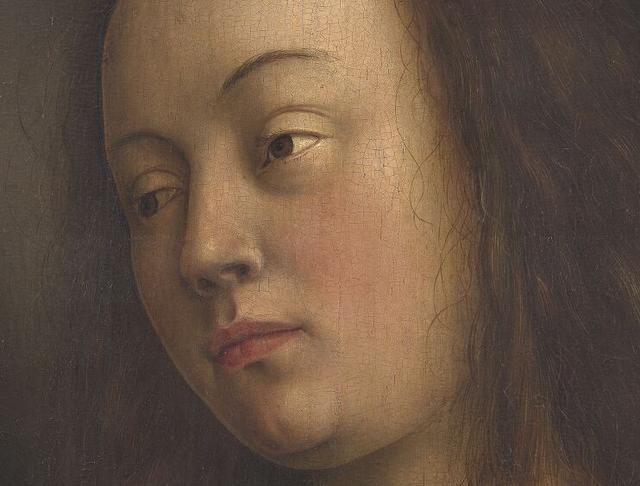 """Van Eyck Drawings Jan Van Eyck's """"eve"""" From The"""