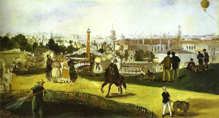 D Painting Exhibition : Manet s pavilion and the exposition universelle