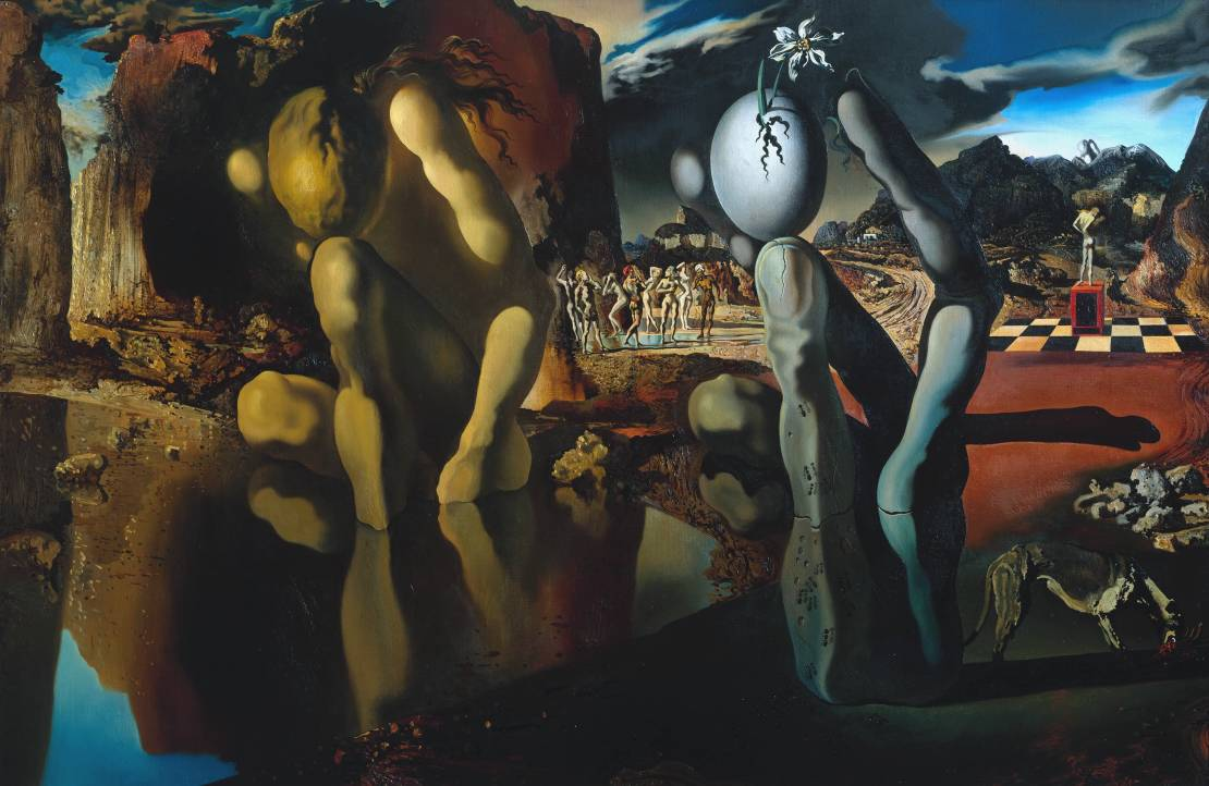 dali s ldquo metamorphosis rdquo paranoiac critical activity and the artist salvador dali