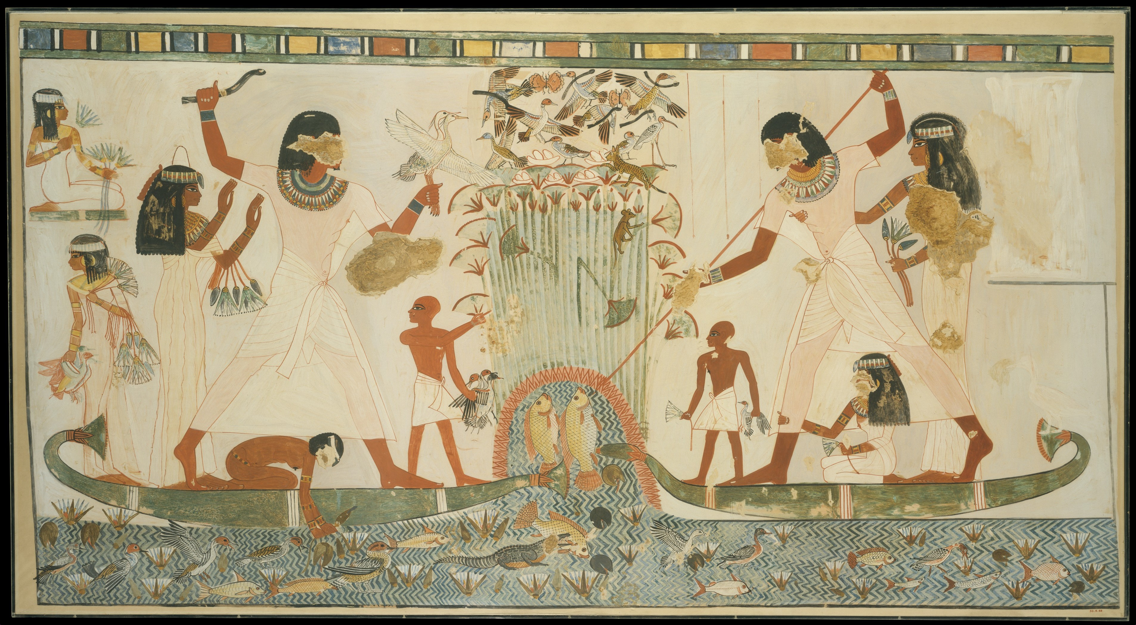 Marshes in Ancient Egyptian Art | Alberti\'s Window