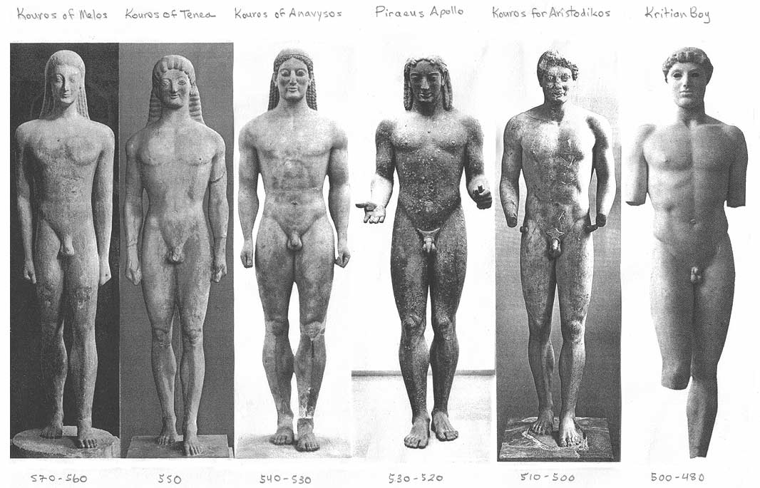 greek vs roman sculpture