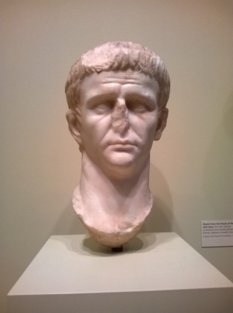 Posthumous Portrait of the Emperor Claudius, 54-68 CE. Seattle Art Museum