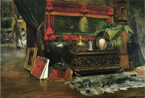 "William Merritt Chase, ""A Corner of My Studio,"" c. 1895"