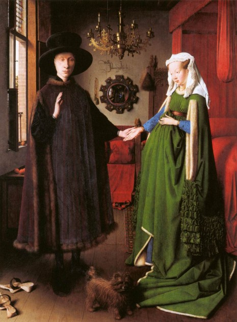 "Jan Van Eyck, ""The Arnolfini Portrait,"" 1434"