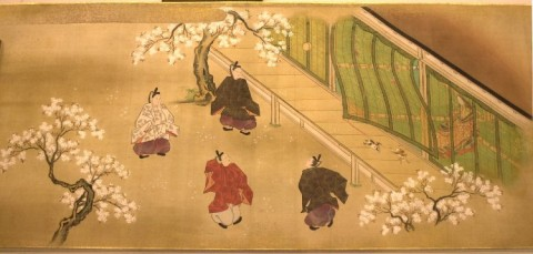 "Kano Ryusetsu Hidenobu, scene from ""Tale of Genji,"" late 17th century - early 18th century"