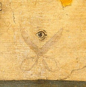 "Pieter Bruegel the Elder, detail of ""Netherlandish Proverbs,"" 1559. Image courtesy via Wikipedia."