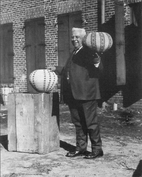"Abram ""Abe"" Cohn with baskets by Datsolalee"