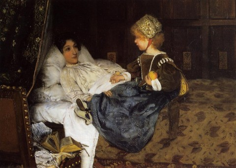 "Laura Theresa Alma-Tadema, ""Always Welcome,"" 1887. Russell-Coates Art Gallery and Museum."
