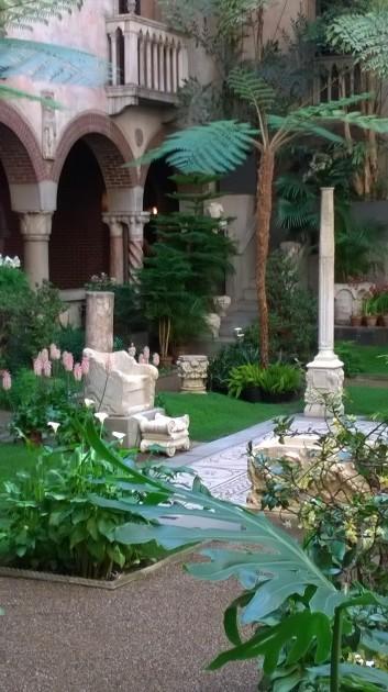 Roman marble throne, Isabella Stewart Gardner Museum, n.d.