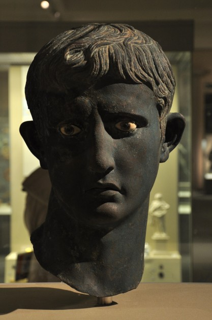 Head of Augustus, 27-25 BC. British Museum. Image courtesy Aiwok via Wikipedia.