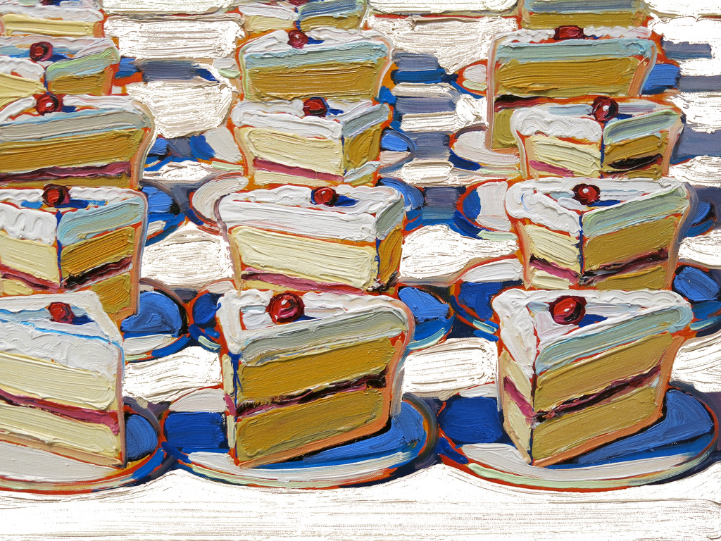 wayne thiebaud Best known for his luscious paintings of pies and ice-cream cones, california  artist wayne thiebaud (born 1920) has been an avid and prolific draftsman since .