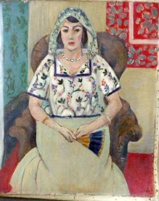 "Matisse, ""Seated Woman"" or ""Woman Sitting in Armchair."""