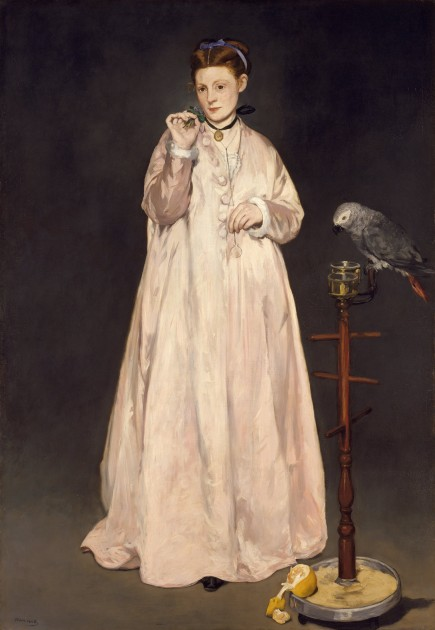 "Édouard Manet, ""Young Lady in 1866,"" 1866."