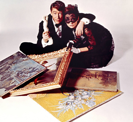 """Promotional photograph for """"How to Steal a Million"""" (1966)"""