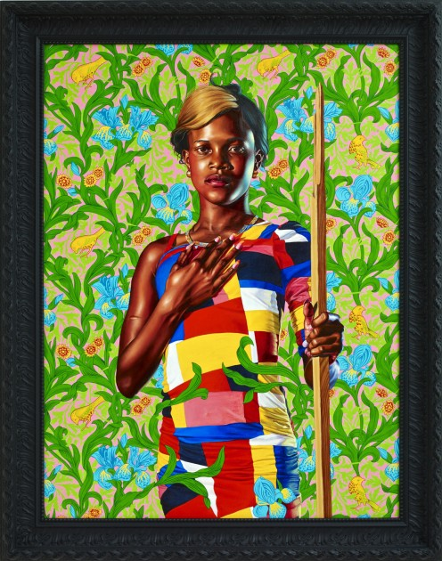 "Kehinde Wiley, ""St. John the Baptist in the Wilderness,"" 2013"