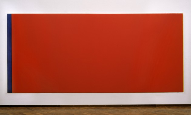 Barnett Newman, Who's Afraid of Red, Yellow and Blue III, 1967-68
