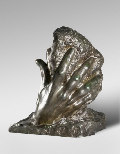 "Auguste Rodin, ""The Hand of God,"" modeled 1898, cast 1925, Rodin Museum"