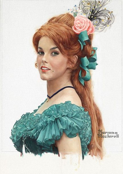 "Norman Rockwell, ""Portrait of Ann-Margaret,"" 1966"
