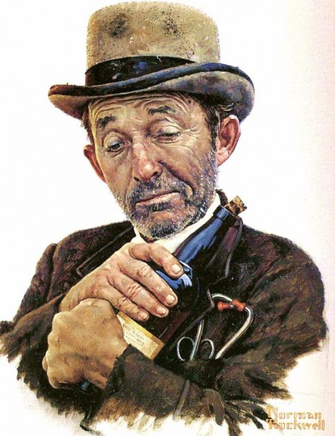 "Norman Rockwell, ""Portrait of Bing Crosby,"" 1966"