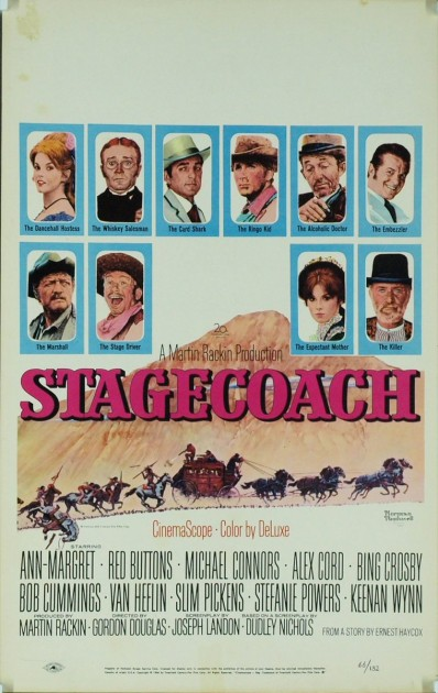 "Poster for ""Stagecoach,"" 1966"