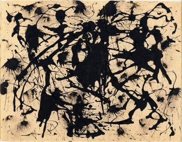 Jackson Pollock, Untitled, c. 1950 Museum of Modern Art