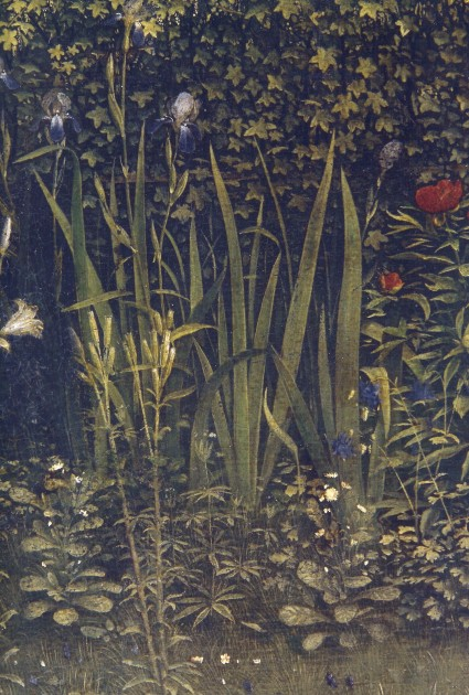 Jan and Hubert Van Eyck, Ghent altarpiece (Adoration of the Mystic Lamb), 1432. Oil on wood panels