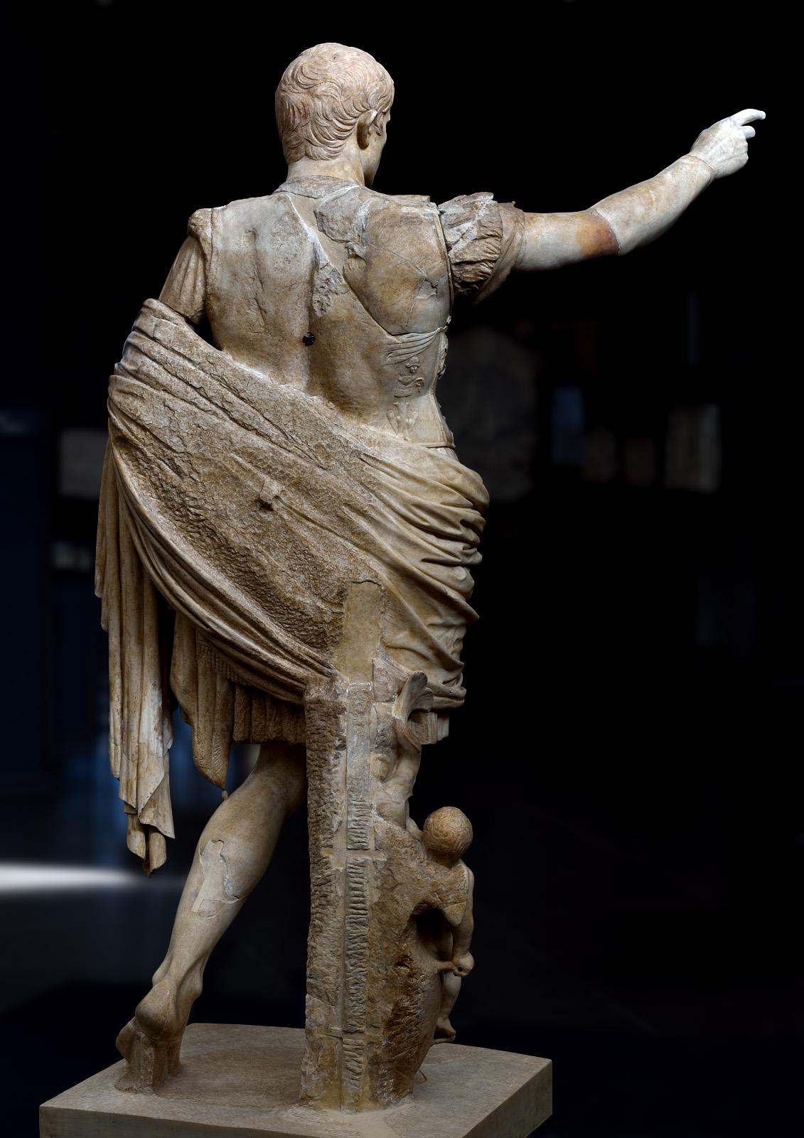 "The Trophy on ""Augustus of Prima Porta"" | Alberti's Window"