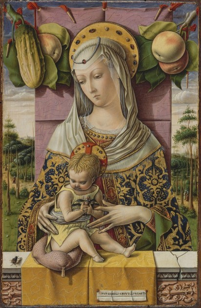 Carlo Crivelli, Madonna and Child, c. 1480 (Metropolitan Museum of Art)