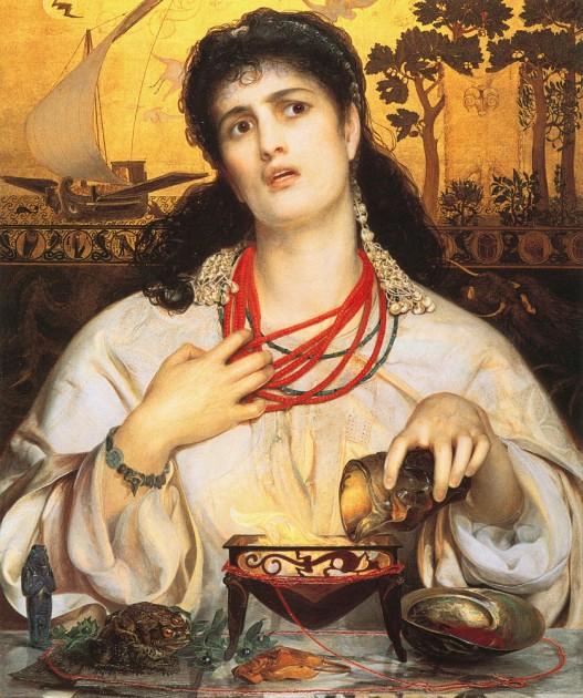 "Frederick Sandys' Plants in ""Medea"""