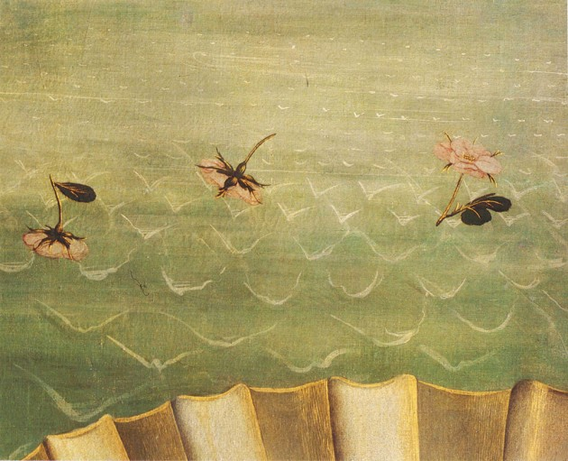 "Botticelli, ""Birth of Venus"" detail of waves, ca. 1484-86"
