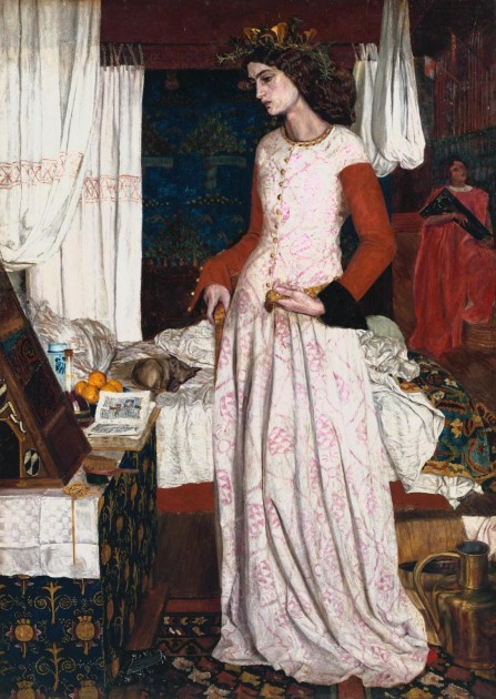 """William Morris, """"La Belle Iseult,"""" 1858.  Photo © Tate. Available through Creative Commons License CC-BY-NC-ND 3.0 (Unported)"""