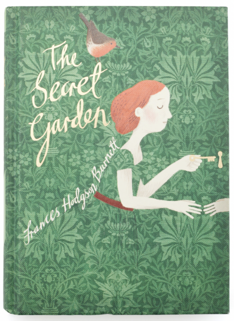 """Cover of """"The Secret Garden,"""" by Frances Hodges Burnett, illustrated by Liz Catchpole"""